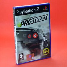 NEED FOR SPEED PROSTREET PS2 ITALIANO SIGILLATO pro street