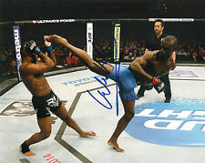 URIAH HALL SIGNED 8X10 PHOTO PROOF AUTOGRAPHED UFC MMA ULTIMATE FIGHTER