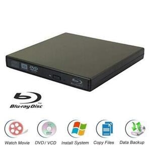 USB2.0 BD-R Blu-Ray DVD/CD±RW Drive Writer Burner Player For Windows 7/8/10 Mac