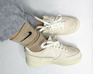 STUSSY NIKE AIR FORCE 1 LOW FOSSIL STONE CZ9084-200 BRAND NEW US 11