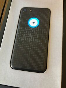 Genuine Feld & Volk Hadoro iPhone 7 Carbon Fiber Eye Extremely RARE Sold out NEW