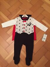 New Boys George Vampire Babygrown / HALLOWEEN Outfit  - Size 3 - 6 Month - Mint