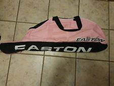 "Easton E100T Baseball / Softball Bat Tote Bag, 35""x7""x 8.5"" Pink/Black"