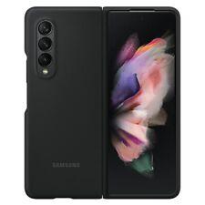 Samsung EF-PF 926 tbegww silicone cover para Galaxy Z fold 3 5g negro Funda móvil