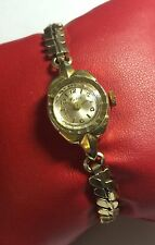 NOS Swiss Made Mechanical Goldtone Watco Ladies Watch