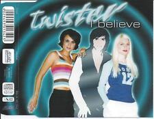 TWISTER - I believe CDM 5TR Eurodance 2001 RARE!
