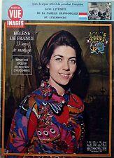 POINT DE VUE 1972 => HELENE DE FRANCE, 15 ans de mariage_JEAN DE LUXEMBOURG