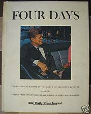 Four Days - The Daily News Journal edition hc/vg 1964