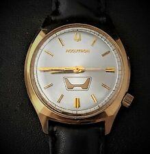 Vintage 1976 Bulova Accutron 219 Honda Logo mens watch N6