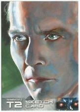 Terminator 2 Judgment Day Sketch Card drawn by Jon Gregory [ C ]