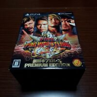 Fire ProWrestling World New Japan ProWrestling Premium Edition PS4 Spike Japan