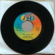 "THE DIPSY DOODLE CONSTRUCTION CO That Little Tune 45 7"" RARE COUNTRY Vinyl 1973"