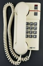 Vintage 1990s Northern Telecom Jazz Corded Touchtone Phone White
