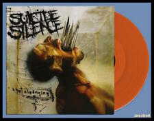 SUICIDE SILENCE The Cleansing LP on ORANGE VINYL New SEALED /300