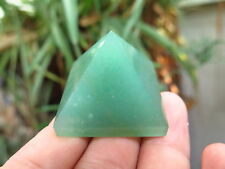 GREEN AVENTURINE PYRAMID ( SMALL ) CRYSTALS HEALING CRYSTAL ,FENGSHUI CRYSTALS