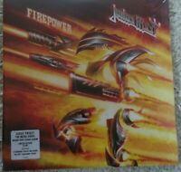 Judas Priest - Firepower Clear 2 Vinyl 500 worldwide Limited Edition NEU