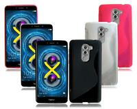 For Huawei Honor 6X GR5 BLN-AL10 / L21 New Gel Silicone Rubber Black Phone Case
