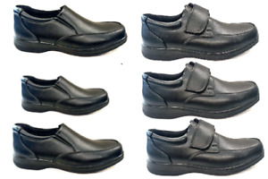 new Mens easy touch  strap  fastening  light  casual  Work  Comfort Shoes  size