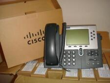 Cisco CP-7960G  VOIP IP POE Phone W/ HandSet  (Refurbished)