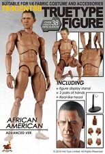 Hot Toys TTM 15 TrueType True Type Body African American Advanced 1/6 Figure