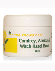 Nature Knows Best Comfrey Arnica Witch Hazel Balm 30ml