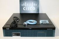 Cisco2921-SEC/K9 2921 3 Port Integrated  1 SFP Router  ios-15.7