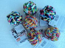 6 x Hundespielzeug Baumwollball ca 5cm Toppreis  Sonderpreis