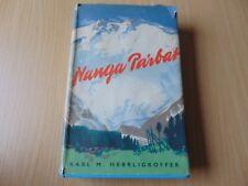 1954 H/B BOOK NANGA PARBAT HIMALAYA EXPEDITION CLIMB HERRLIGKOFFER ELEK BOOKS