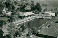 Ansichtskarte Oberharmersbach Schwarzwald Schwimmbad (Nr.9108)