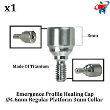 RS Dent Dental Implant Healing Cap Abutment Aesthetic Emergence Profile 3mm