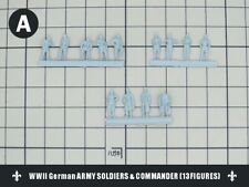 1/144 RESIN KITS  WWII German ARMY SOLDIERS & COMMANDER (13FIGURES) A