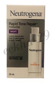 NEUTROGENA RAPID TONE REPAIR MOISTURIZER NIGHT RETINOL SA With Vitamin C