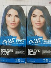 Splat Rebellious Color 1 wash Temporary Hair Color Dye BOLDER BLUE NEW quantity2