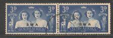 South West Africa #158 (A46) VF USED -1947 3p Princess Margaret Rose & Elizabeth