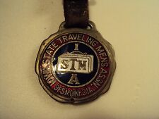 Iowa State Traveling Mens ASSN. / Desmoines IA /Original Paper inside /Watch Fob