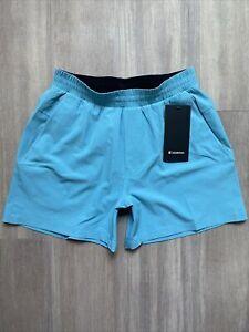 "Lululemon Mens Shorts 5"" Channel Cross Swim Medium"