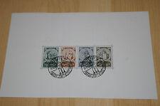 """Deutsches Reich *Block 2* Mi 508-511 gest. + ungeb. """"Deutsche Nothilfe 1933"""" /ND"""