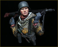 Soldier Resin Bust 1/10 Model Kits GK Unpainted Unassembled