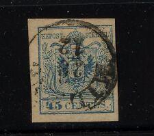 Austria-Lombarday 6 used ca 00004000 talog $60.00 Kl0911