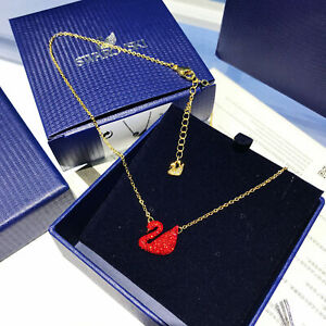 Swarovski classic red elegant enchanting ICONIC SWAN necklace 5465400