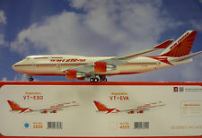 Hogan Wings 1:200 Boeing 747-400 Air India VT-ESO LI2858+ Herpa Wings Katalog