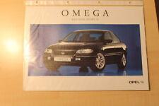 02338) Opel Omega B Edition Sport II Prospekt 10/1997