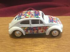 Andy Warhol Campbell's Soup Can DieCast White Volkswagen VW Bug Car Lledo 1998