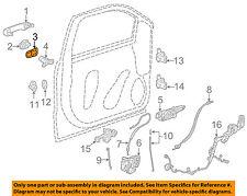 GM OEM Lock -Rear Door-Cover Gasket 13578681