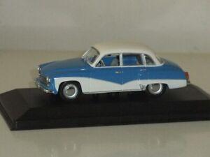 1:43 Minichamps 430 015900 Wartburg A312 Saloon 1965 - Blue / White