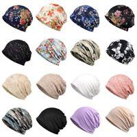 US Women Men Cotton Caps Beanies Cap Hat Biker Bandana Head Wrap Sunshade Hat