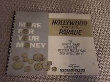 Vintage Book Of 30s/40s Screen Gems Films Pictures Advertising Movie Memorabilia
