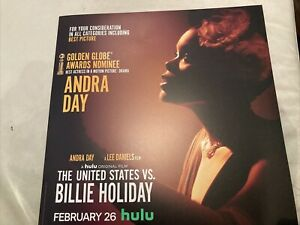 The United States Vs. Billie Holiday Press Program Andra Day Lee Daniels