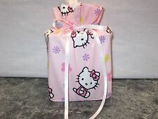 Hello Kitty light pink cotton Fabric square Tissue Box Cover/gift bag handmade