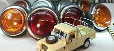 Land Rover Series 2a OEM Lucas L488 Glass Lens External Lights Complete Set
